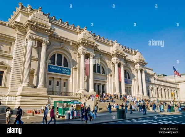 York City Metropolitan Museum Of Art. Main