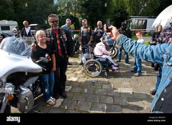 Hells Angels Amsterdam Holland - Year of Clean Water