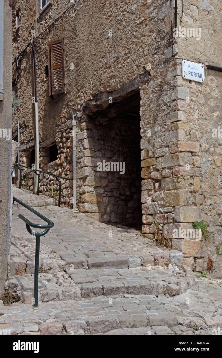 Plus Beaux Villages Du Var : beaux, villages, Seillans, Resolution, Stock, Photography, Images, Alamy
