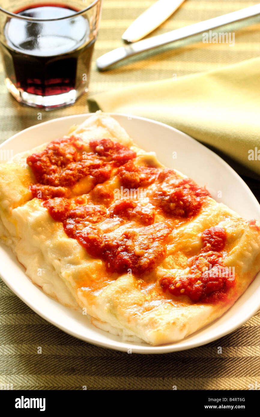 Cannelloni in Napoletana style Naples Campania Italy Stock Photo 20192888  Alamy