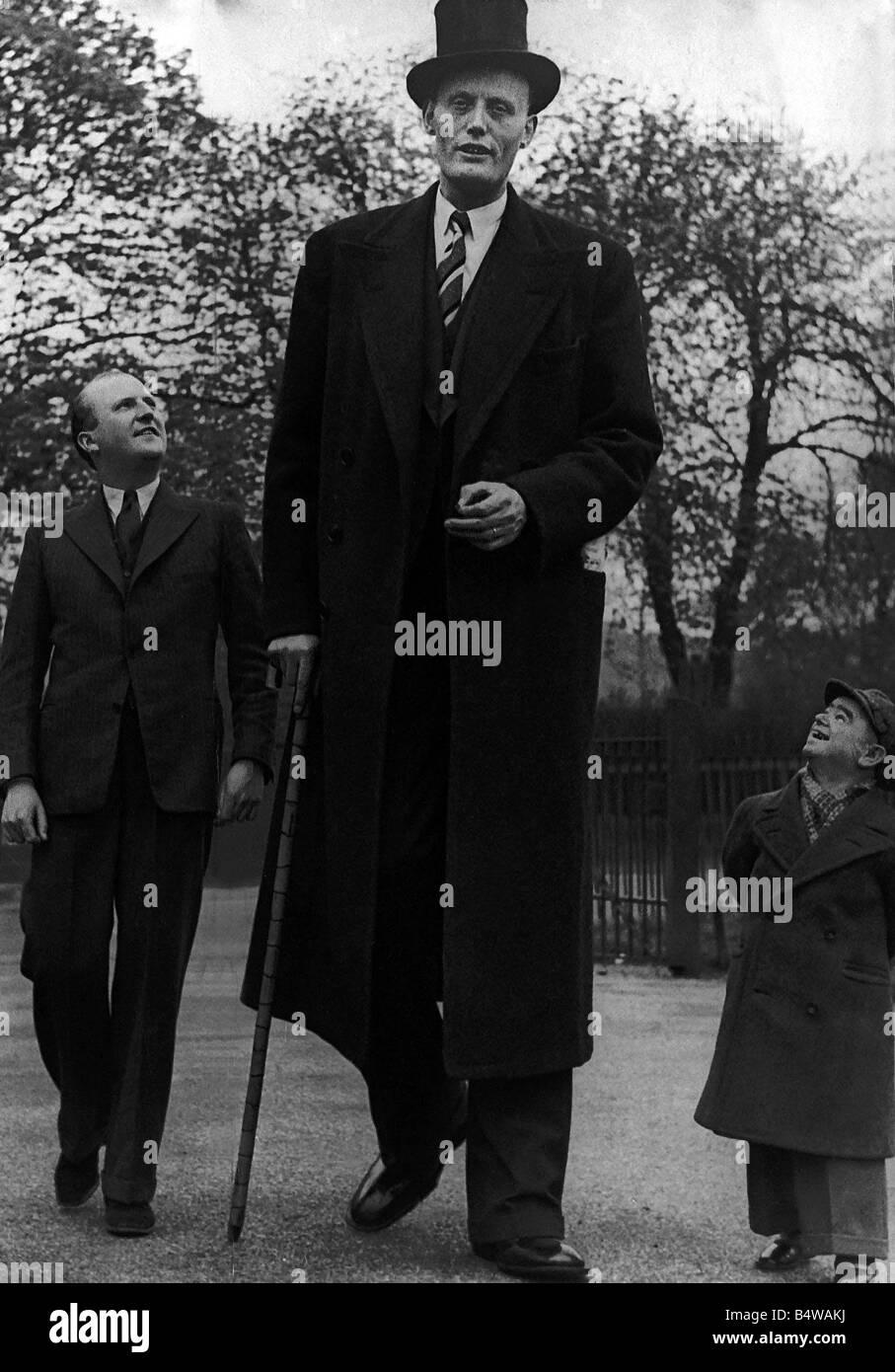 Jan Von Albert Tall man Jan Von Albert one of the world s