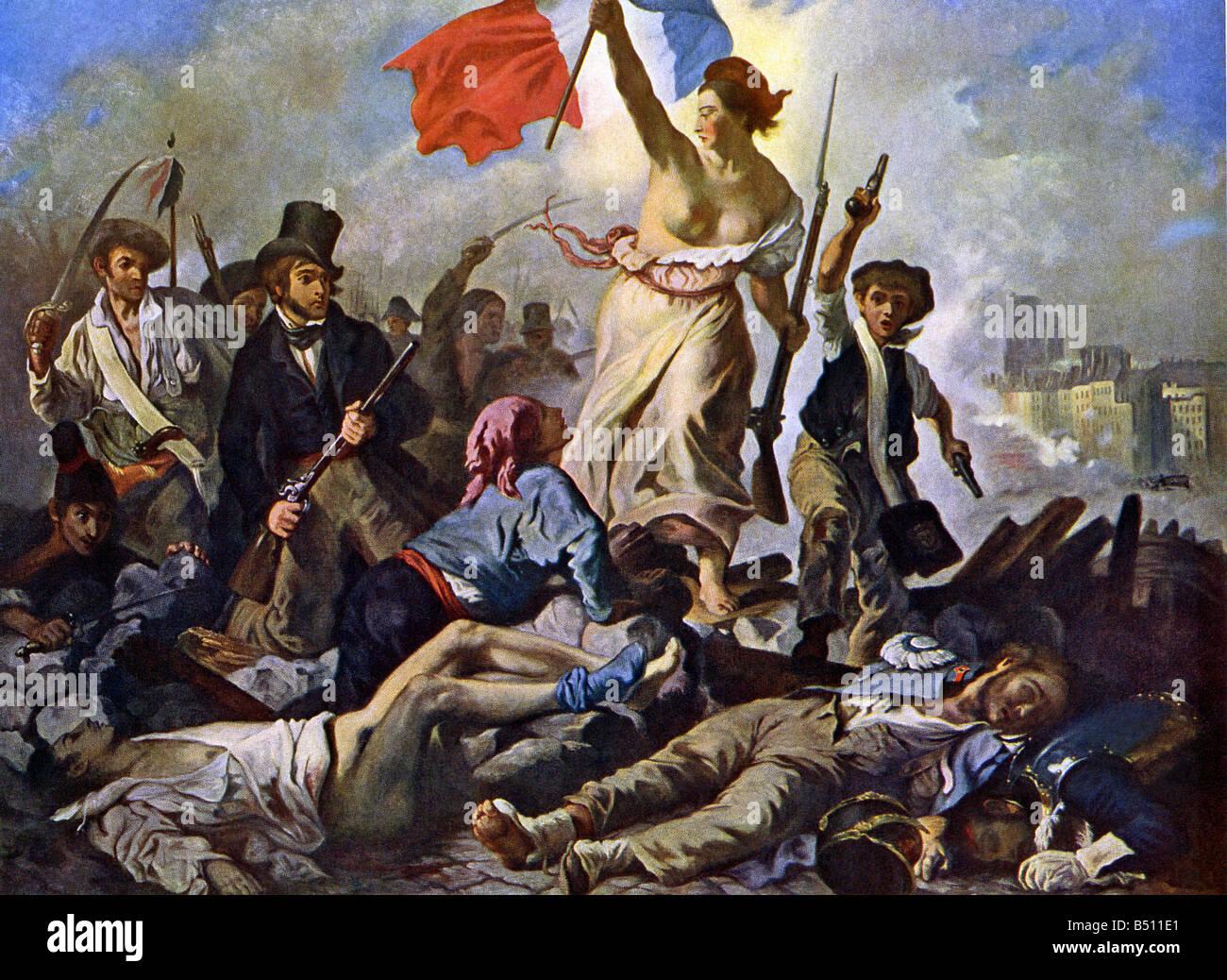 July French Revolution Stock Photo