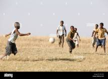 Children Playing Soccer in South Africa