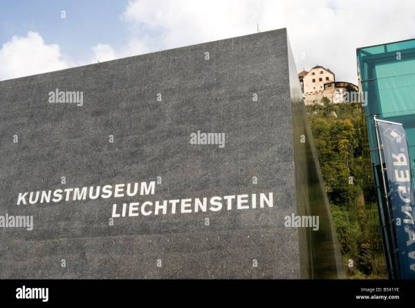 Kunstmuseum Art Museum Liechtenstein Vaduz Europe European Stock Royalty Free