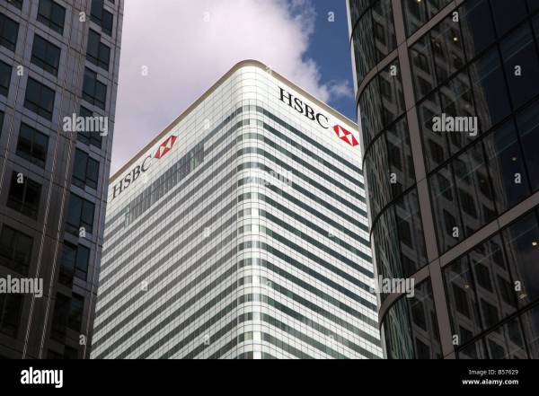 Hsbc Headquarters Building In London - Year of Clean Water