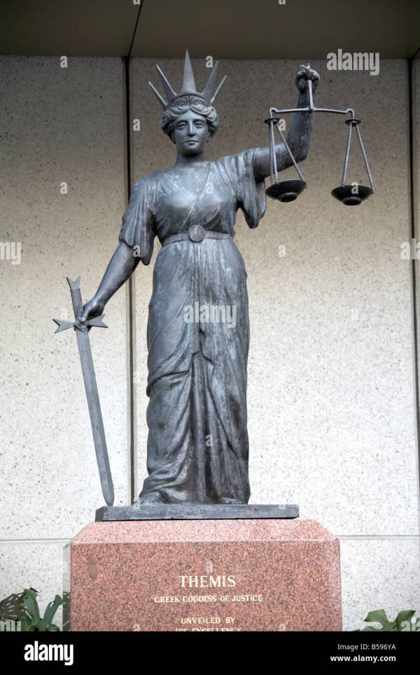 Goddess Of Justice Stock &