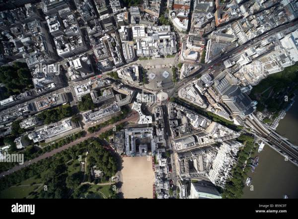 Aerial View North West Of Trafalgar Square National