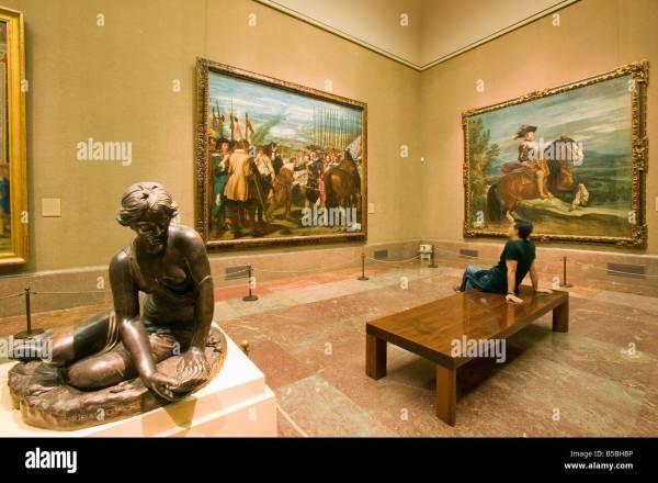 Prado Madrid Interior Stock &