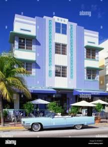 Art Deco Architecture Casablanca Stock &