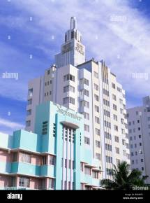 Surfcomber And Ritz Plaza Hotels Ocean Drive Art Deco