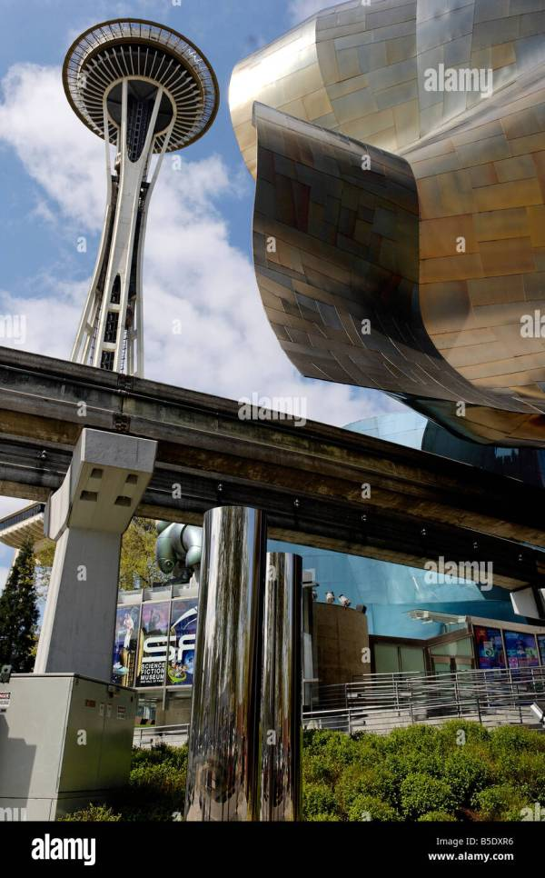 Experience Music Project Museum Stock &
