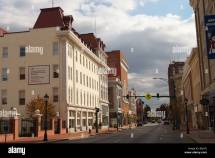 Downtown Hagerstown Maryland Washington County Stock