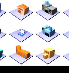 supply chain management icons isolated on a white background [ 1300 x 892 Pixel ]