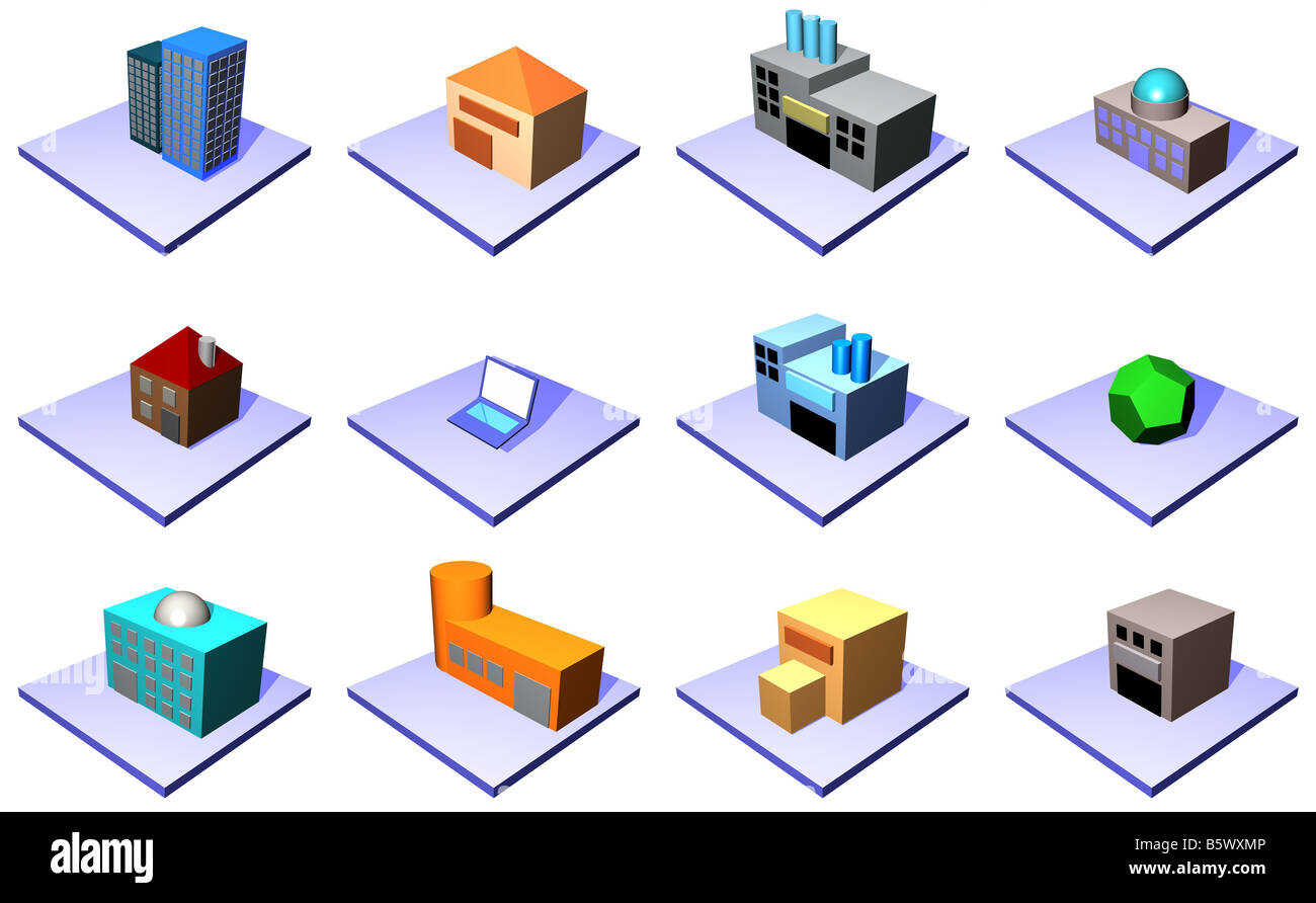 hight resolution of supply chain management icons isolated on a white background