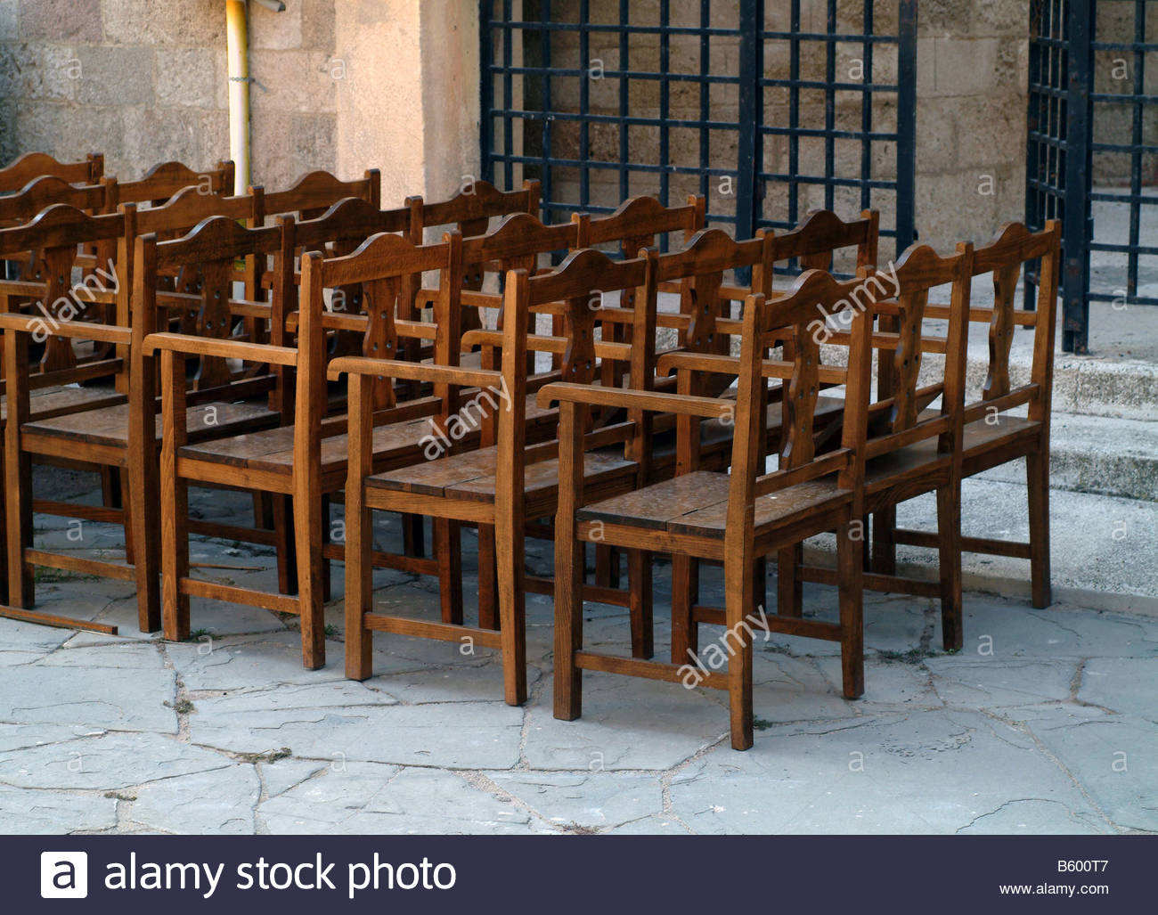 Pew Chairs Church Chairs Chair Outside Outdoors Outside Church Religion Pew