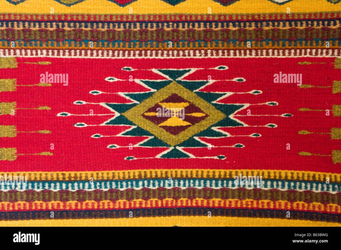 Santa Ana del Valle Oaxaca Mexico Textile showing