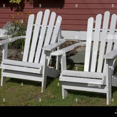 New River Adirondack Chairs Reading Lounge Chair Stock Photos And