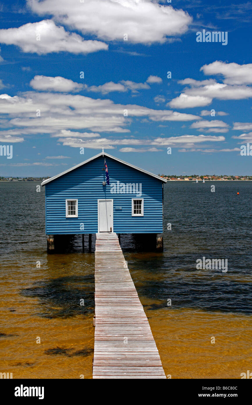 Swan River Claremont Boat House And Jetty Perth WA W A