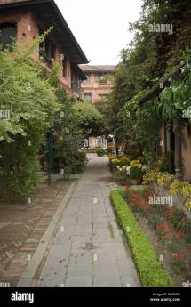 Dwarika Boutique Hotel Kathmandu Nepal Stock