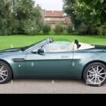 Aston Martin V8 Vantage Roadster Stock Photo Alamy