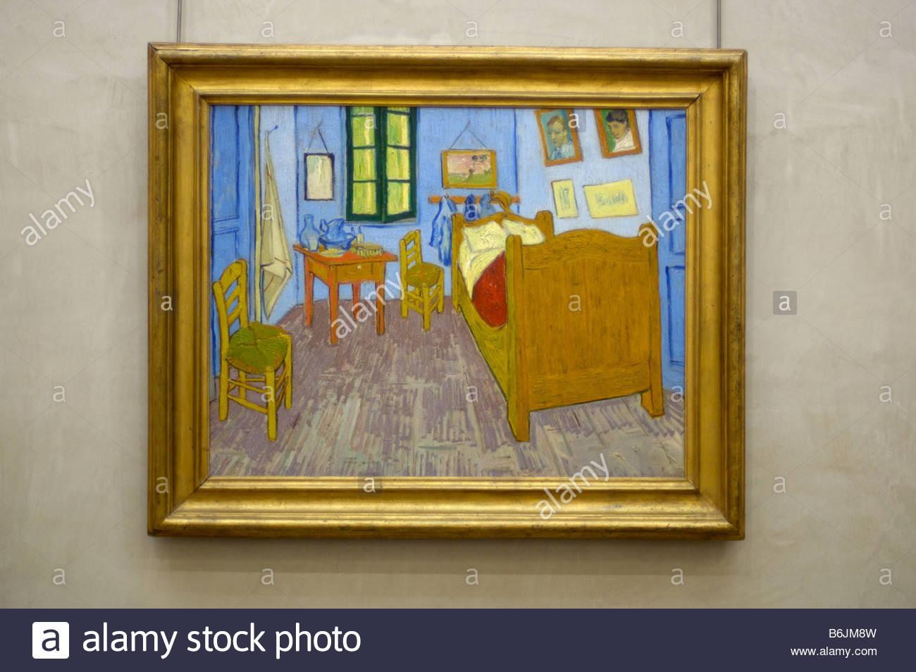 France Paris La Chambre De Van Gogh A Arles 1889 By