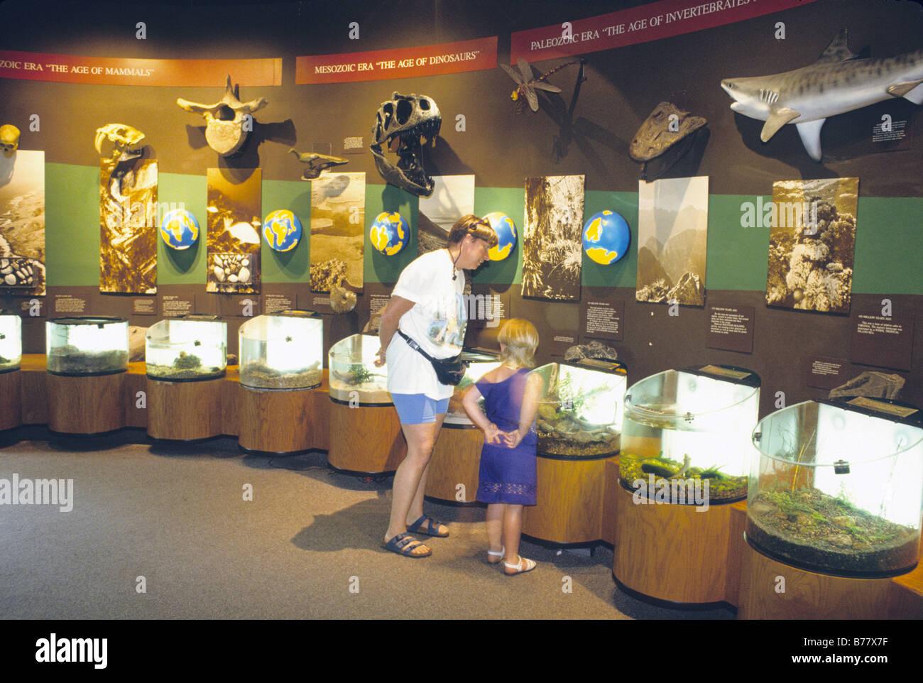People Look At Exhibits Virginia Living Museum Newport