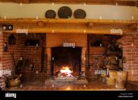 inglenook fireplace Stock Photo, Royalty Free Image ...