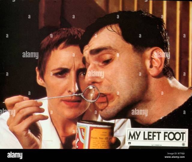 My Left Foot The Story Of Christy Brown Year 1989 Ireland Uk Daniel Day Lewis Fiona Shaw Director Jim Sheridan
