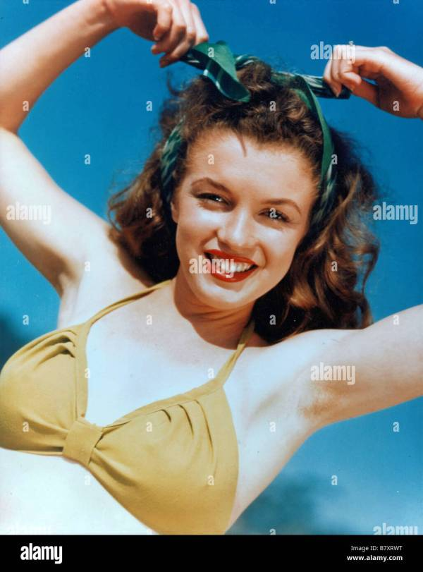 Marilyn Monroe Bikini Stock &