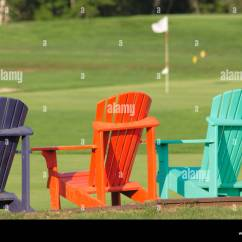 New River Adirondack Chairs Easy To Clean High Chair Lawn Stock Photos And