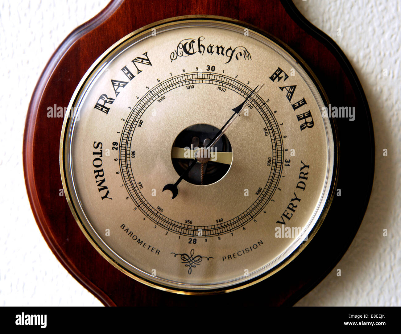 A Barometer Used For Weather Forecasting Measuring The
