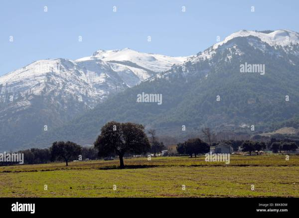View Andalusian Countryside Spain Stock &