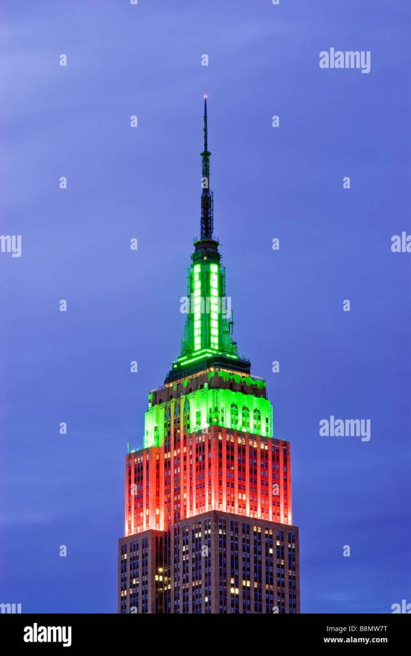 Empire State Building Christmas