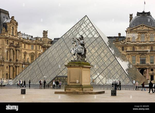 Le Louvre Museum Pyramid
