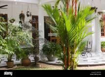 Rustic Tropical Patio & Garden In Villa Sri Lanka