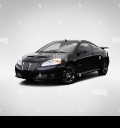 2009 pontiac g6 gxp in black front angle view [ 1300 x 956 Pixel ]