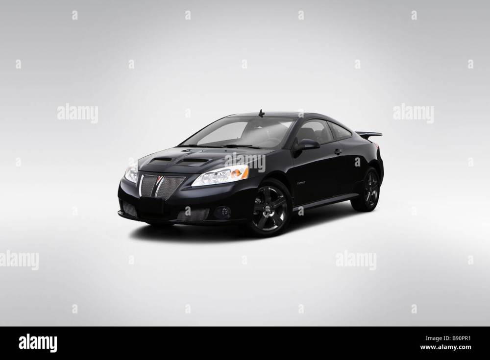 medium resolution of 2009 pontiac g6 gxp in black front angle view