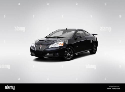 small resolution of 2009 pontiac g6 gxp in black front angle view