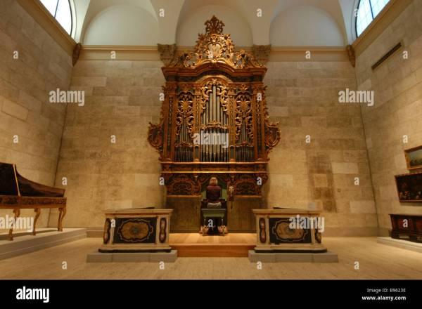17th Century Baroque Organ Stock &