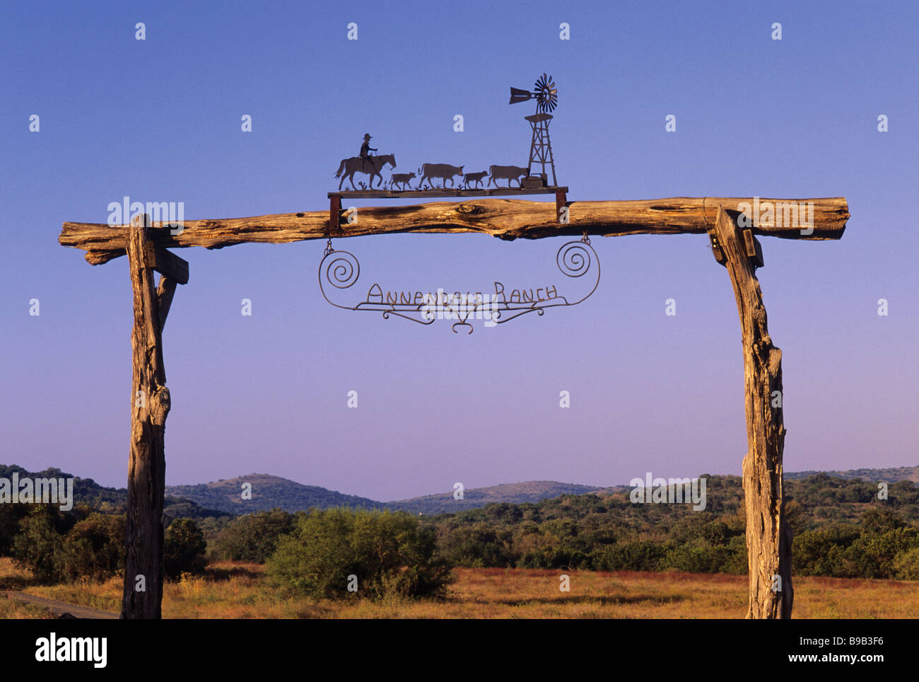 Farm And Ranch Entry Gates