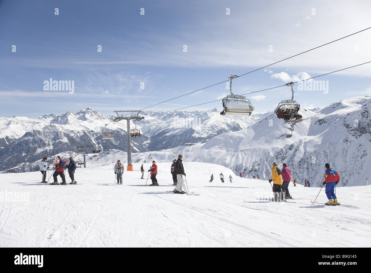 buy ski lift chair tiffany chairs for sale austria vorarlberg montafon area skiers