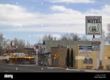 Highway Restaurant Signs Stock &