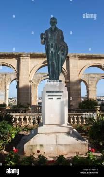 Lord Strickland Memorial In Upper Barracca Garden
