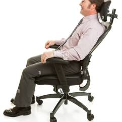 Anthro Ergonomic Verte Chair Barber Hydraulic Repair Lumbar Support Stock Photos Images Alamy Businessman Relaxing In A Comfortable Office Full Body Isolated On White Image