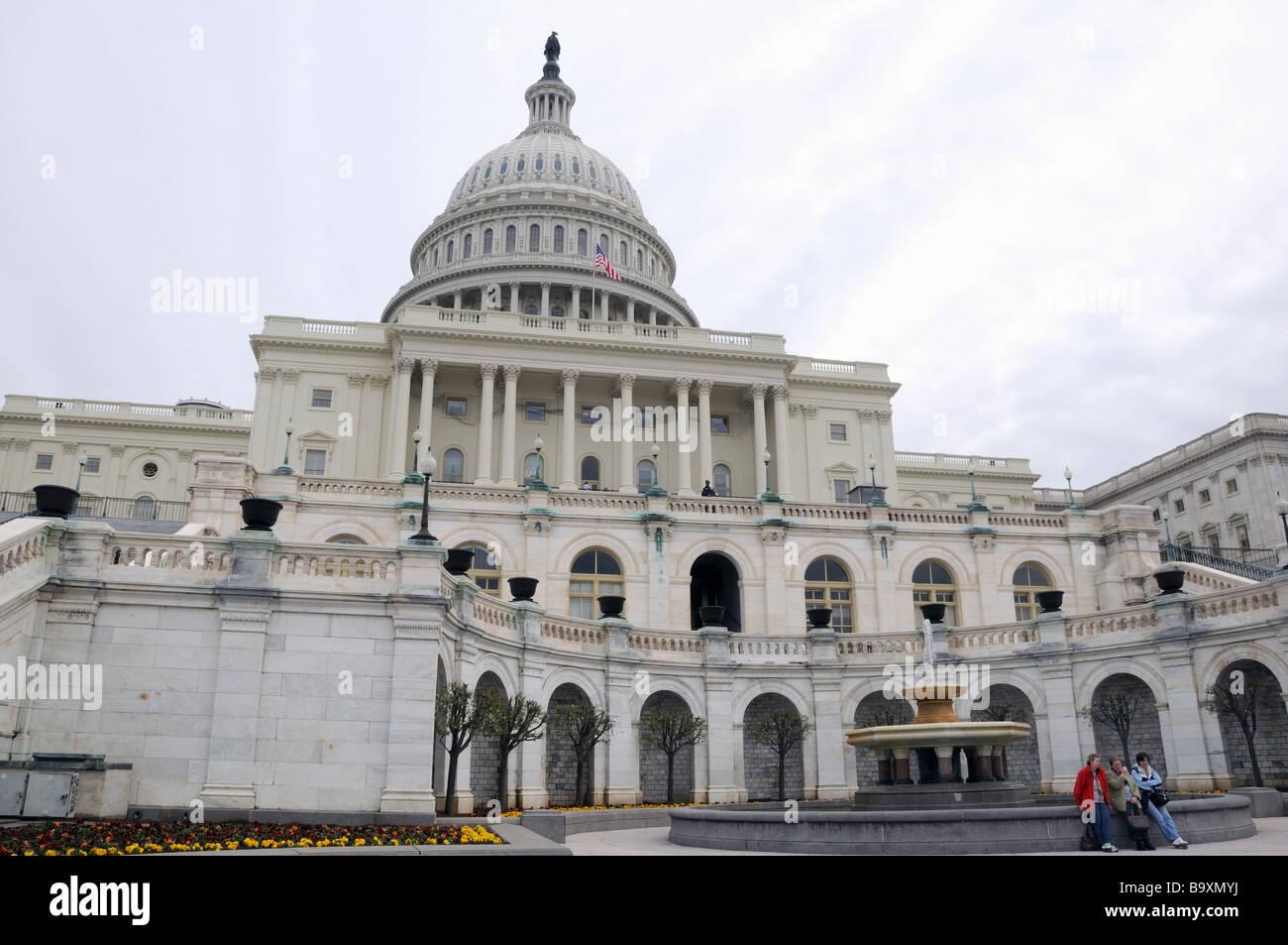 The U S Senate And The U S House Of Representatives Meet