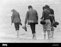 Barefoot Shoes Black And White Stock & - Alamy