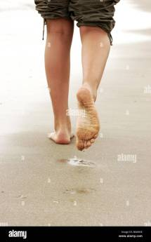 Sand Woman Detail Feet Barefoot -opinion People