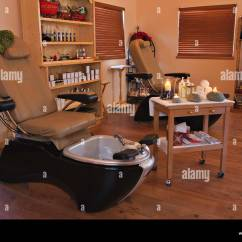 Spa Pedicure Chairs Canada Free Plans For Building Adirondack At The Black Bear Resort Port Mcneill Stock Northern Vancouver Island British Columbia