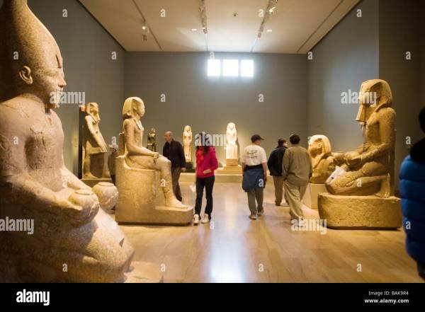 Egyptian Art Metropolitan Museum Of York City Stock 23781720 - Alamy