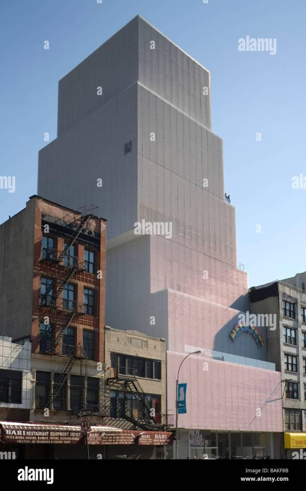 Museum Of Contemporary Art York United States Sanaa Kazuyo Stock Royalty Free